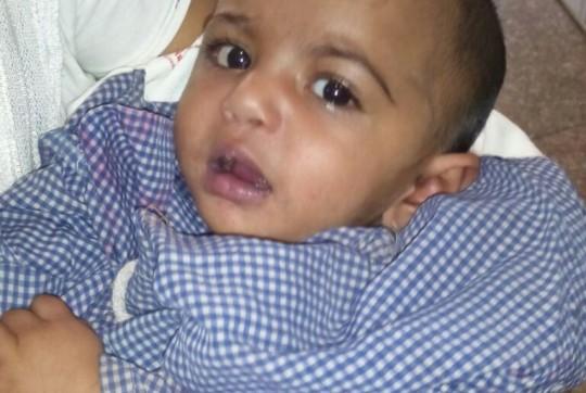 Kashish in Hospital
