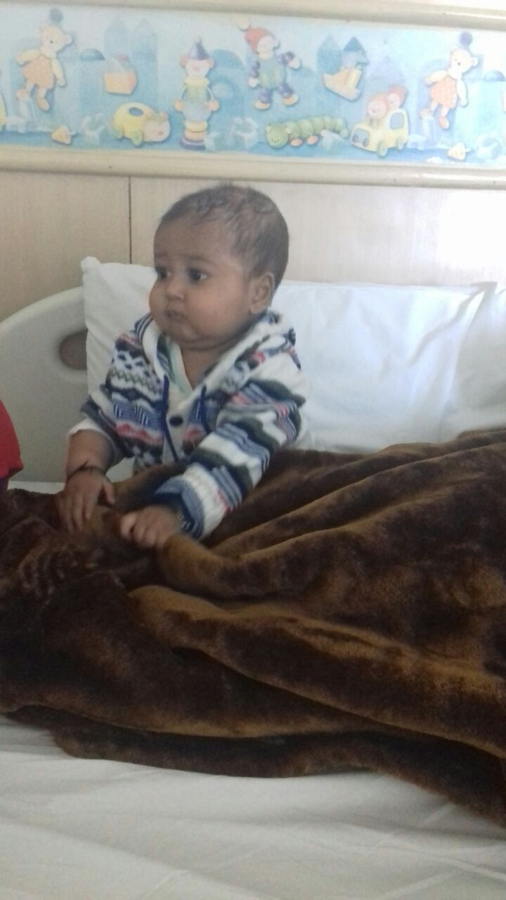 Prakhar in Hospital