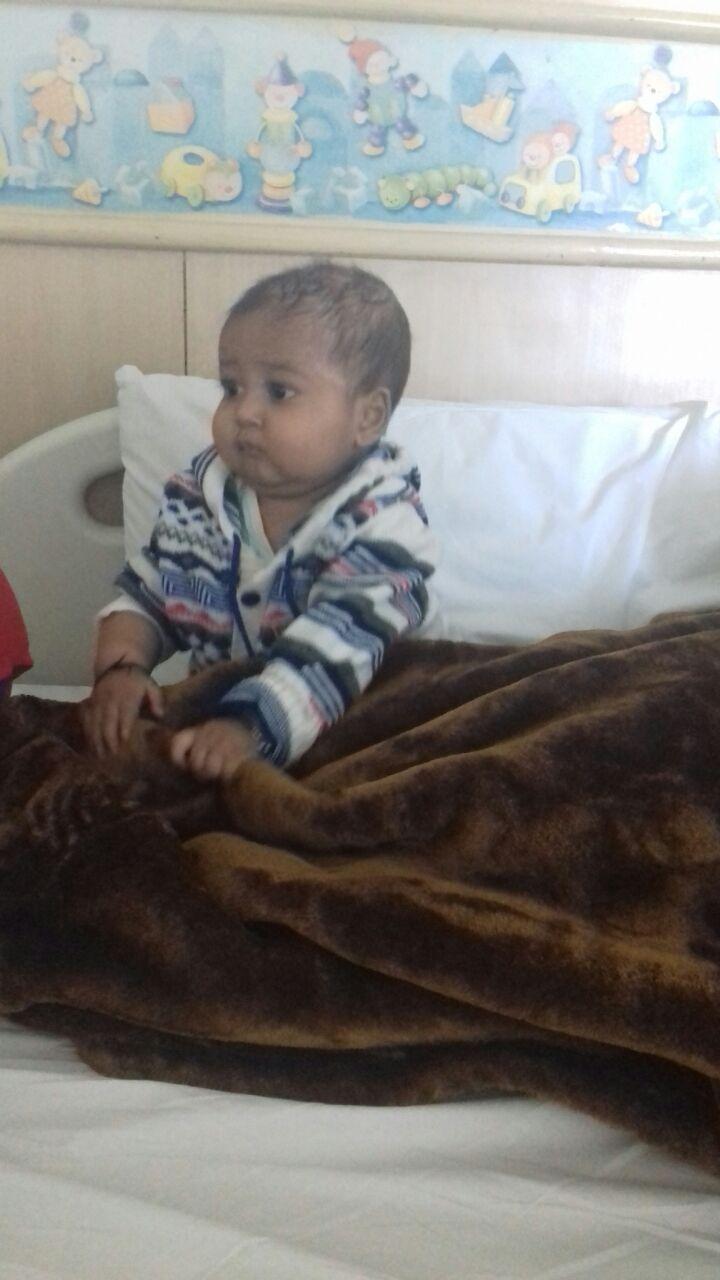 Prakhar in Hospital