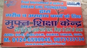 NFE Center Dream Girl Foundation