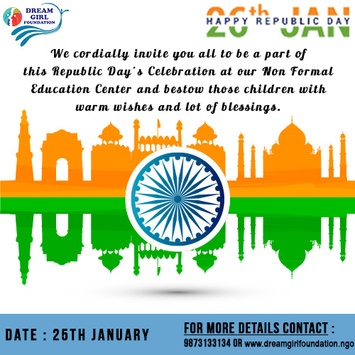 Republic Day Celebration With Ngo Children