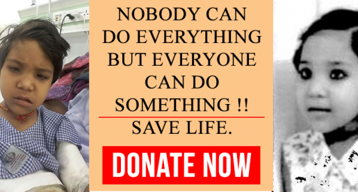 Ravya Patient at NGO Dream Girl Foundation