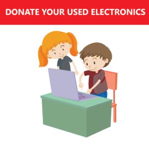 Donate Used Electronics
