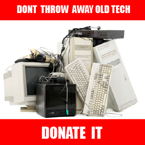 Old Tech Donation