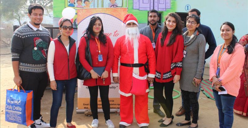Welcome Christmas at NGO