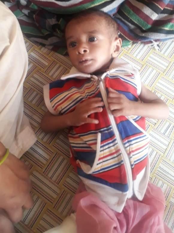 Baby of Sayna